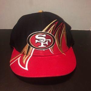 Vintage 49ers Waves Hat